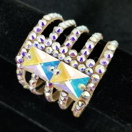 Faith Swarovski Rhinestones Ballroom Dance Bracelets